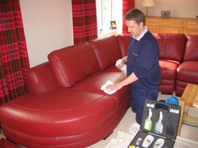 Leather cleaning Herts